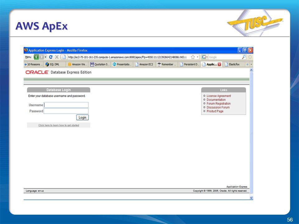 56 AWS ApEx