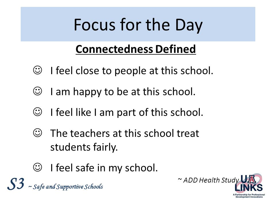 S3 ~ Safe and Supportive Schools Principles of Prevention – A Review