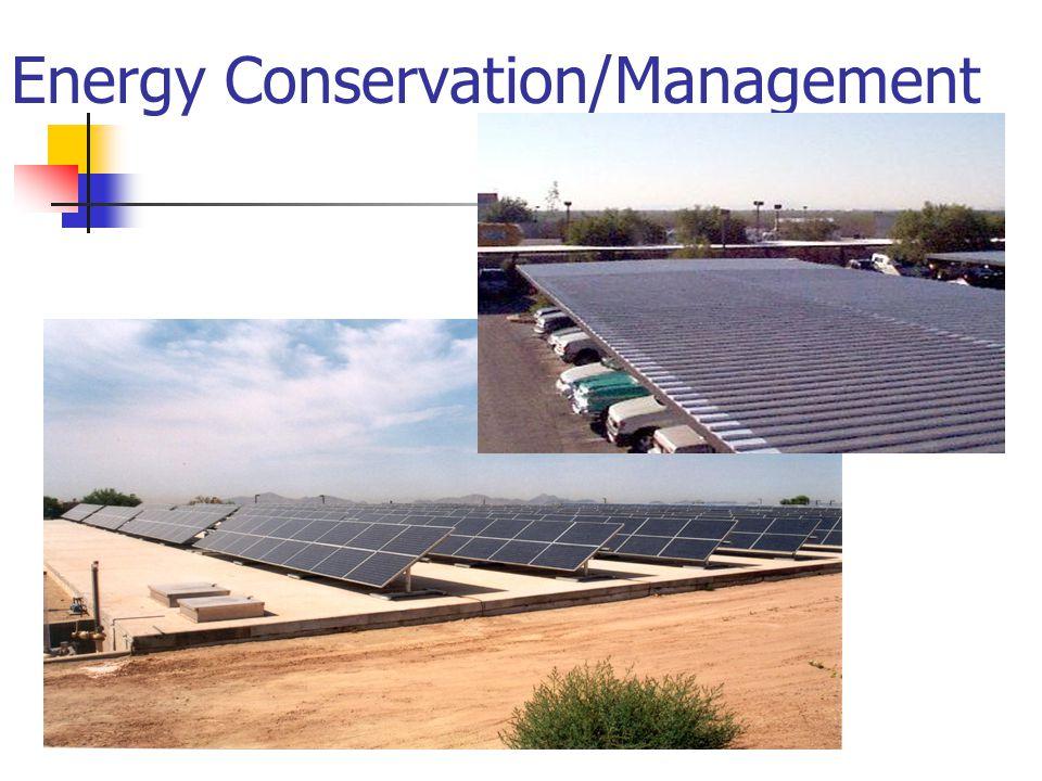 Energy Conservation/Management