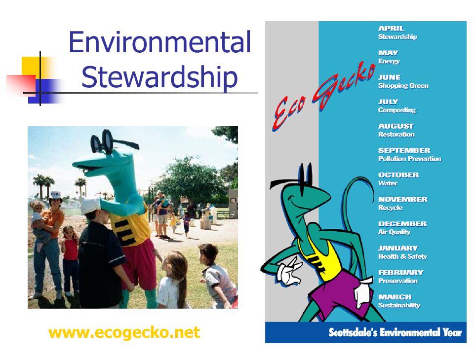 Environmental Stewardship www.ecogecko.net