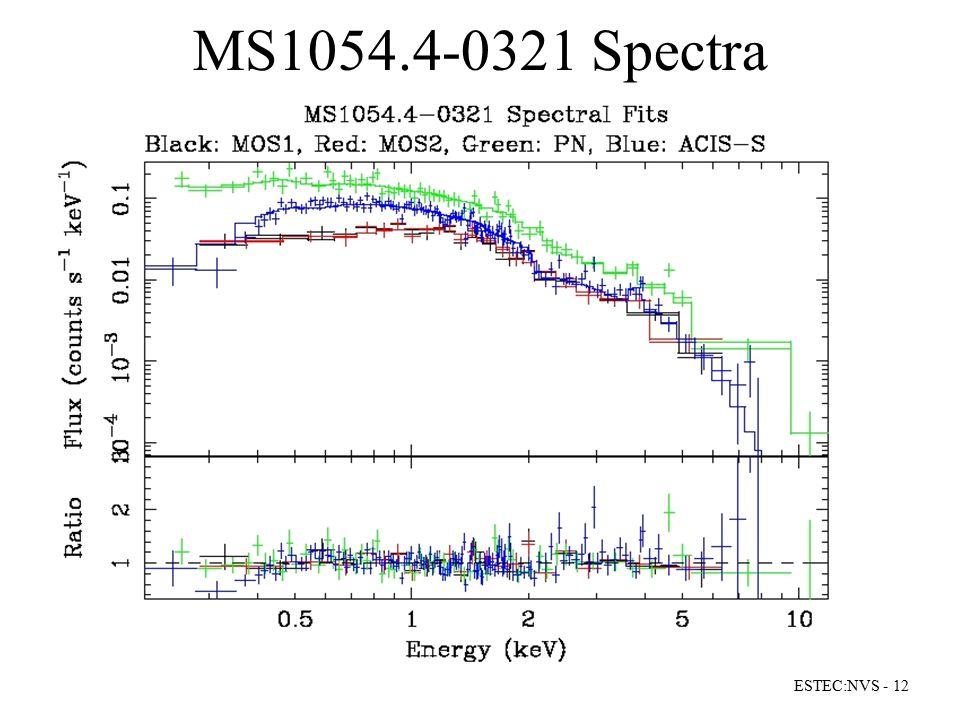 MS1054.4-0321 Spectra ESTEC:NVS - 12