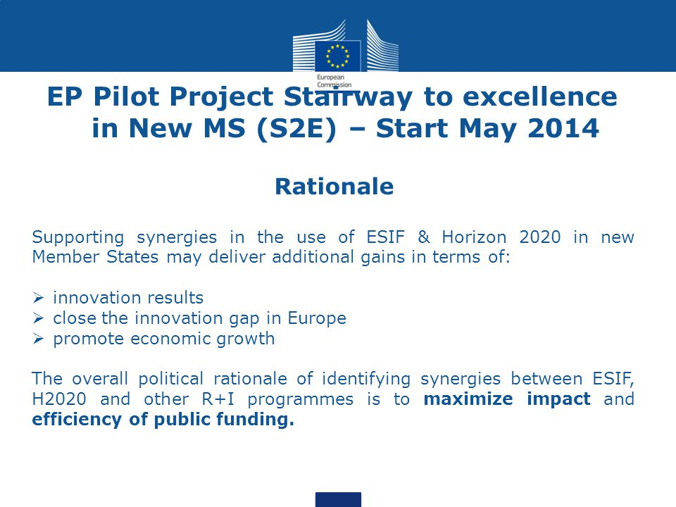 Launching Upstream actions to prepare regional R&I players to participate in Horizon 2020 through capacity mapping & capacity building.