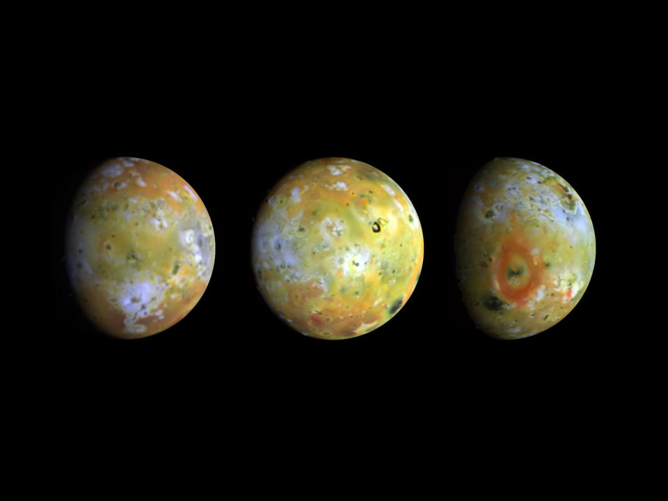 Io and sulfur rich systems Io, the inner most of the Galilean moons of Jupiter, is known as the most volcanically active environment in the solar system.