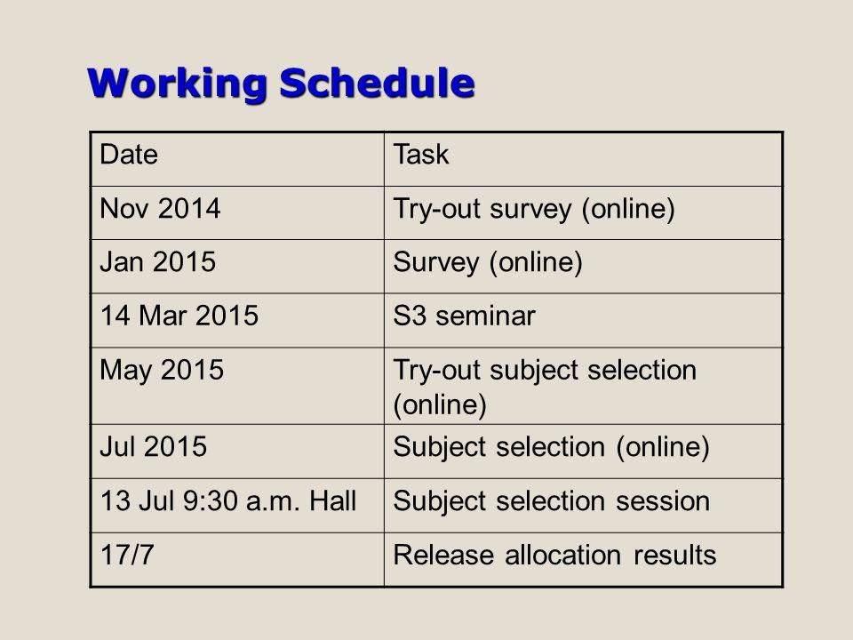 Subject Group Set Up Report (Example) Subject123456 BIO CHEM PHY 中史 ECON GEO THS BAFS ICT VA