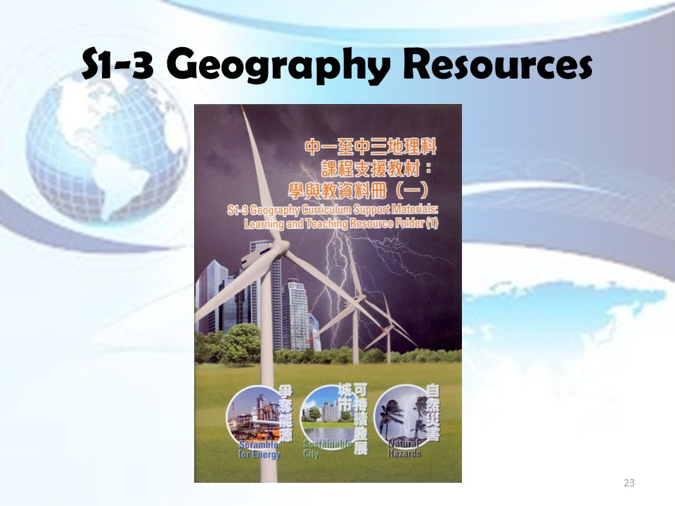 S1-3 Geography Resources 23