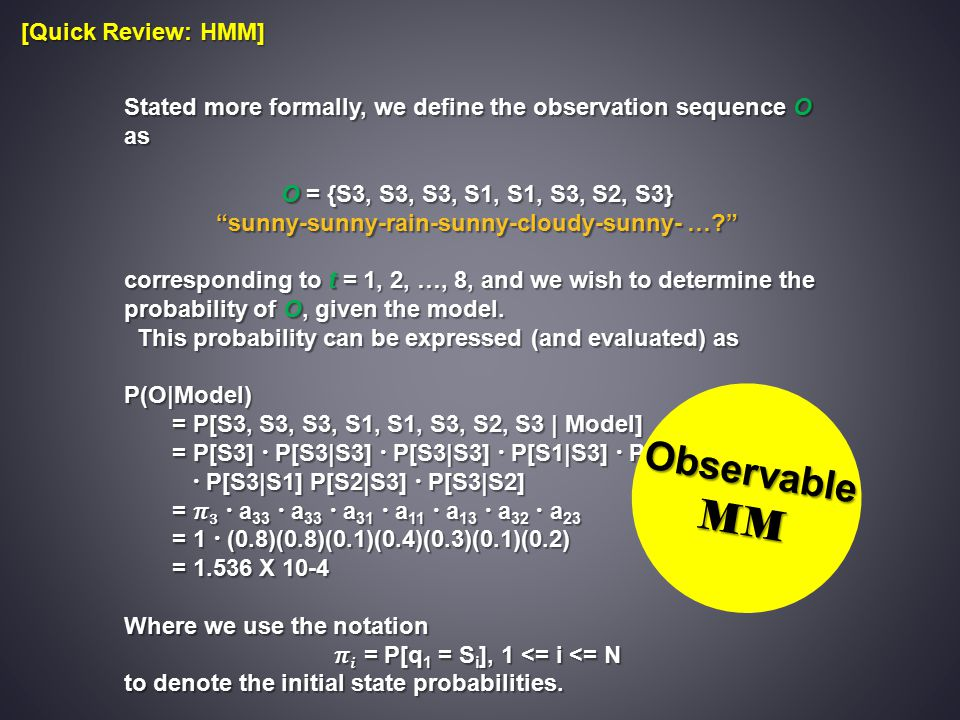 MM Observable