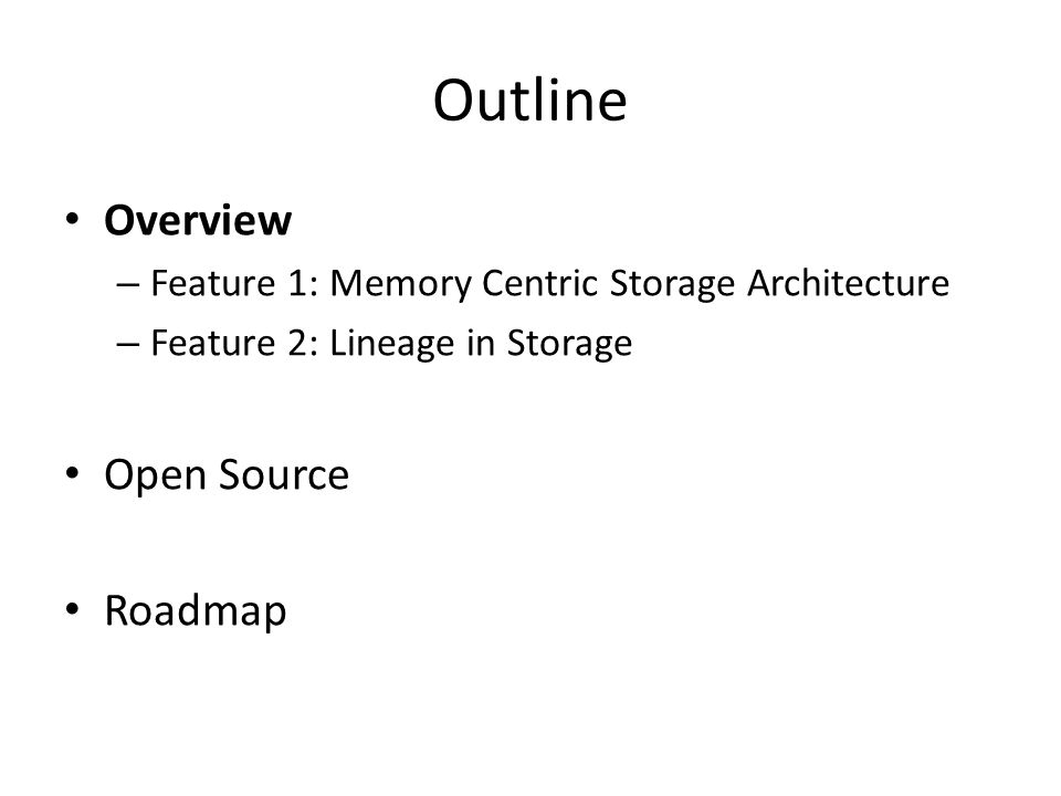 Short Term Roadmap (0.6 Release) Ceph Integration (Ceph Community, Redhat) Hierarchical Local Storage (Intel) Performance Improvement (Yahoo) Multi-tenancy (AMPLab) Mesos Integration (Mesos Community, Mesosphere) Network Sub-system Improvement (Pivotal) Many more from AMPLab and Industry Contributors 54