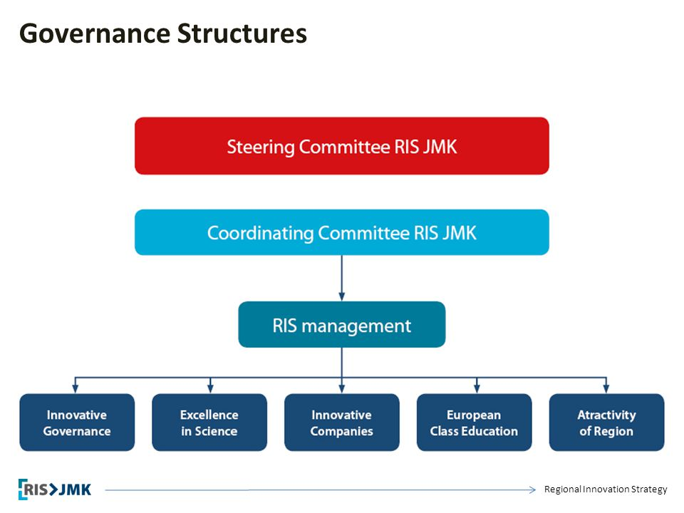Regional Innovation Strategy Governance Structures