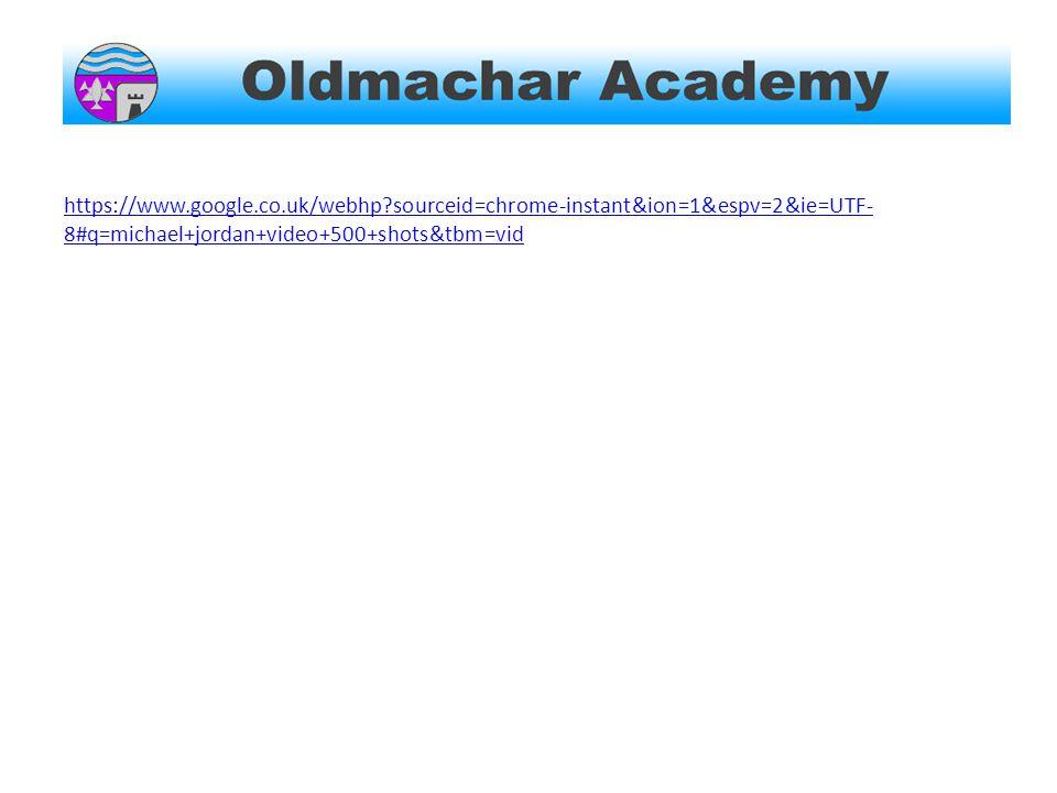 https://www.google.co.uk/webhp?sourceid=chrome-instant&ion=1&espv=2&ie=UTF- 8#q=michael+jordan+video+500+shots&tbm=vid
