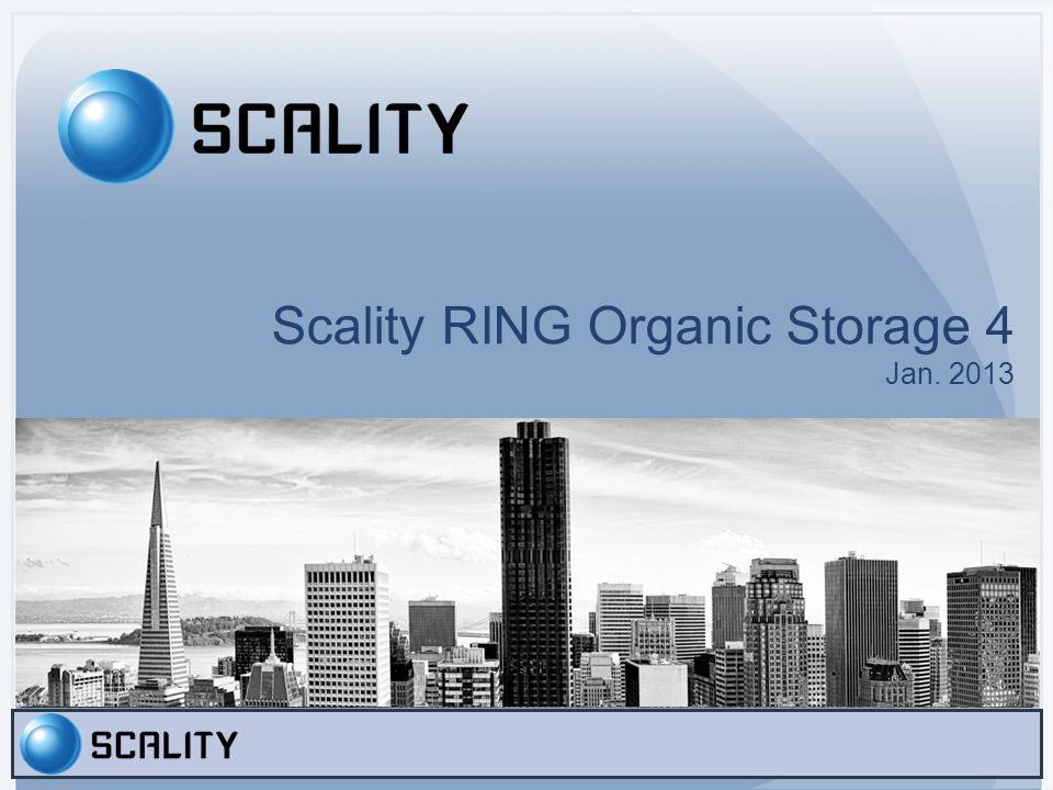 Agenda Corporate Profile Industry Trends and Business Challenges Scality RING 4 Scality Solutions Ecosystem Roadmap and Vision Conclusion Slide 3