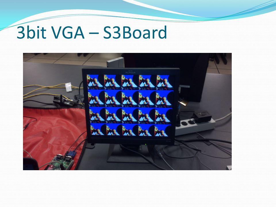 3bit VGA – S3Board