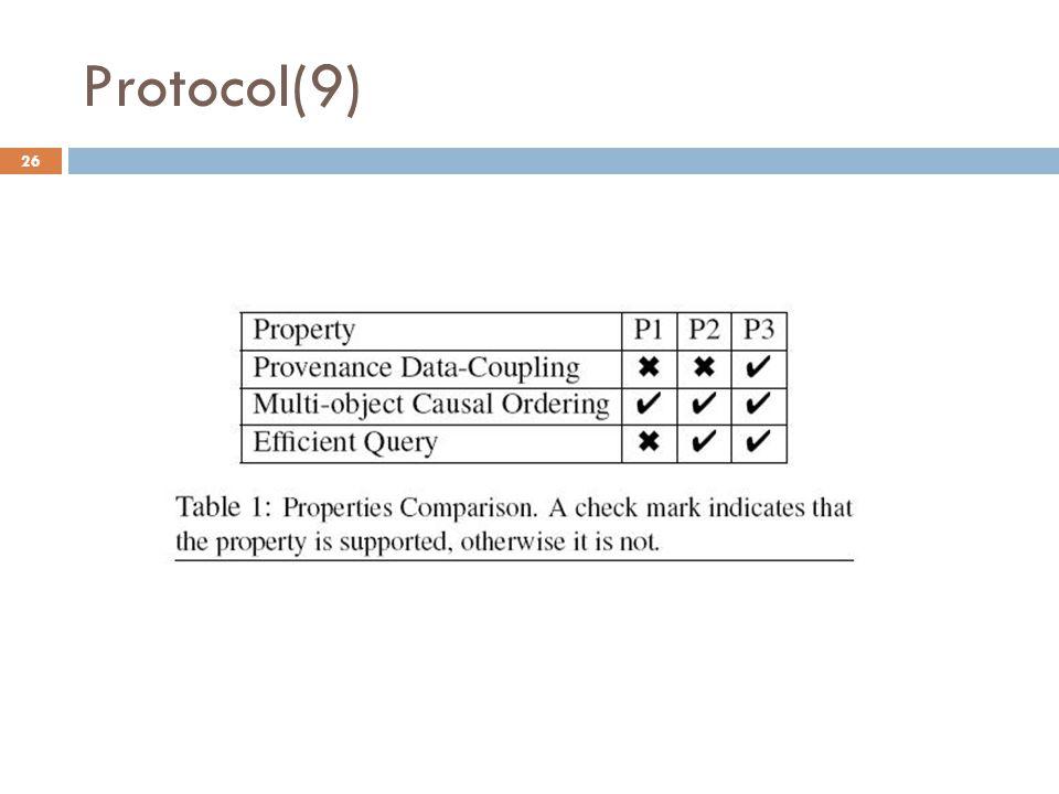 Protocol(9) 26