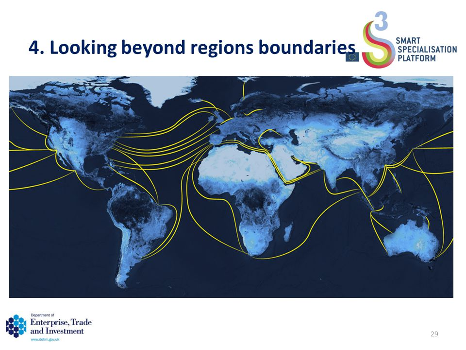 4. Looking beyond regions boundaries 29