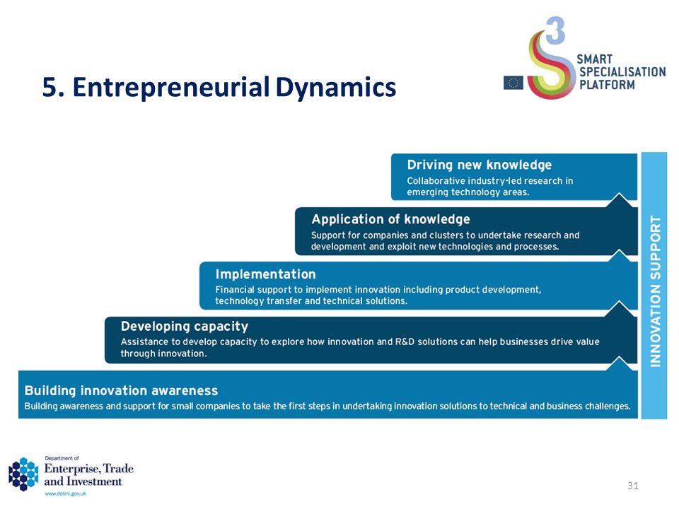 5. Entrepreneurial Dynamics 31