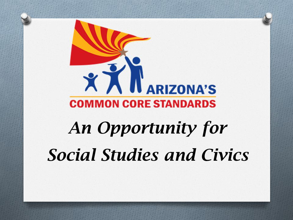 An Opportunity for Social Studies and Civics