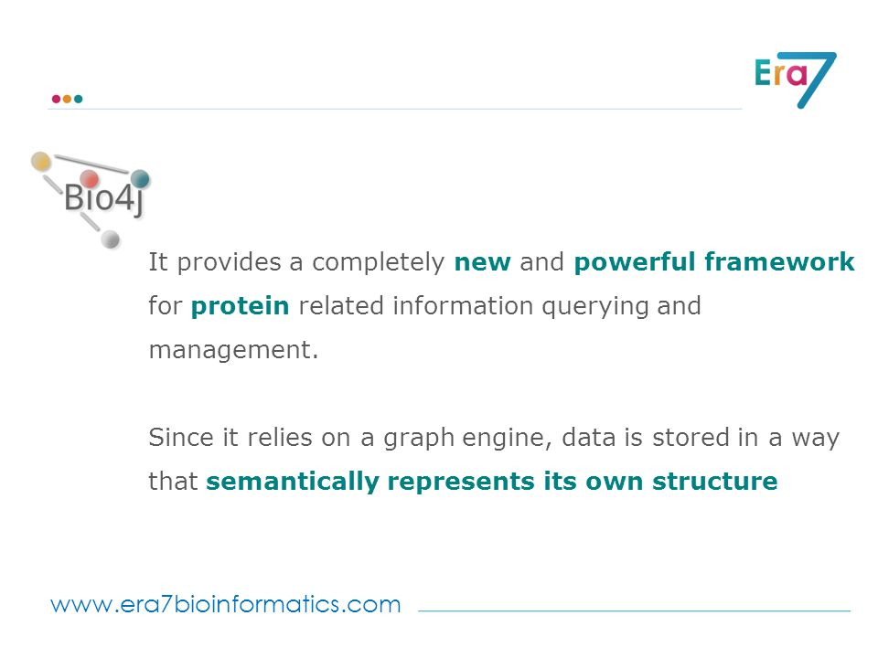 www.era7bioinformatics.com It provides a completely new and powerful framework for protein related information querying and management.