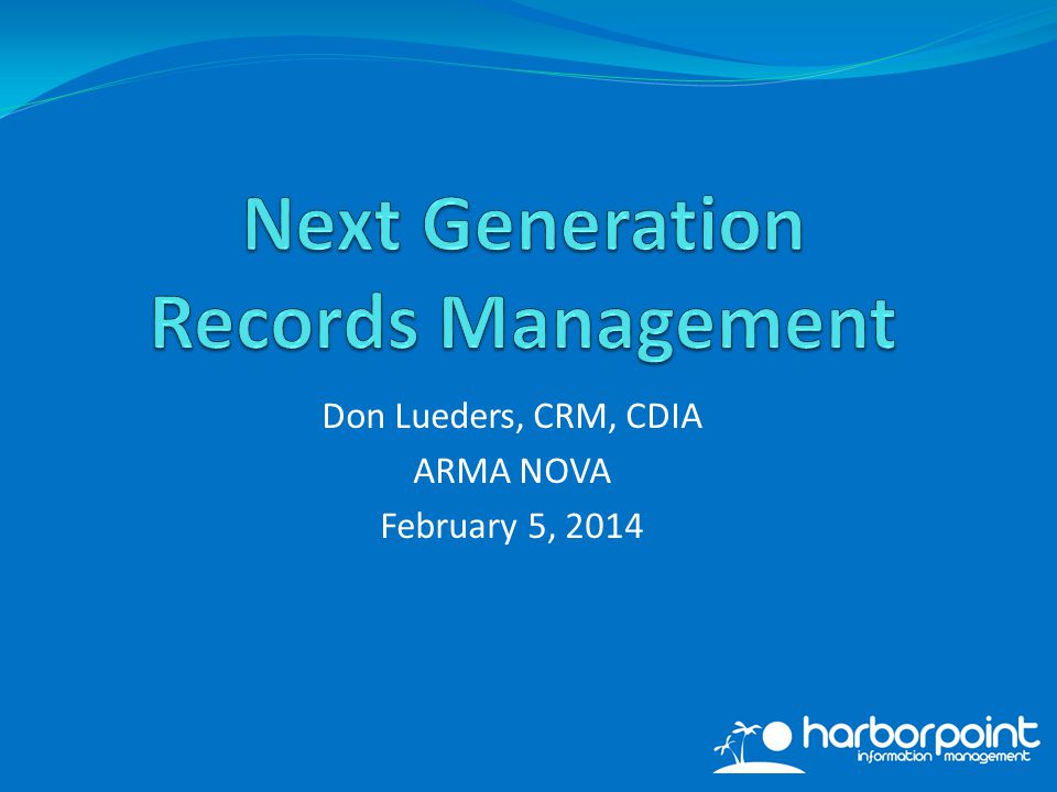 Cloud computing is here to stay. Next Gen RM Issue #5: