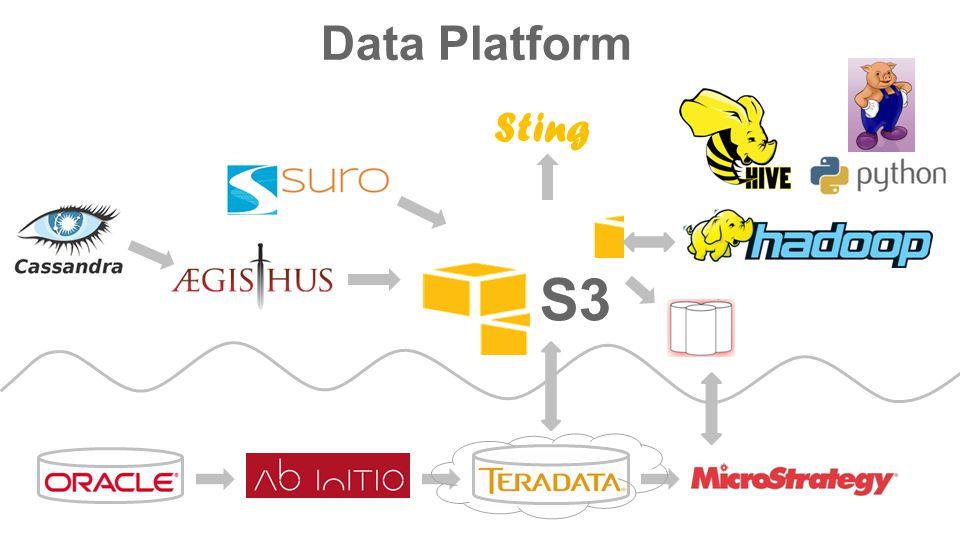S3 Sting Data Platform