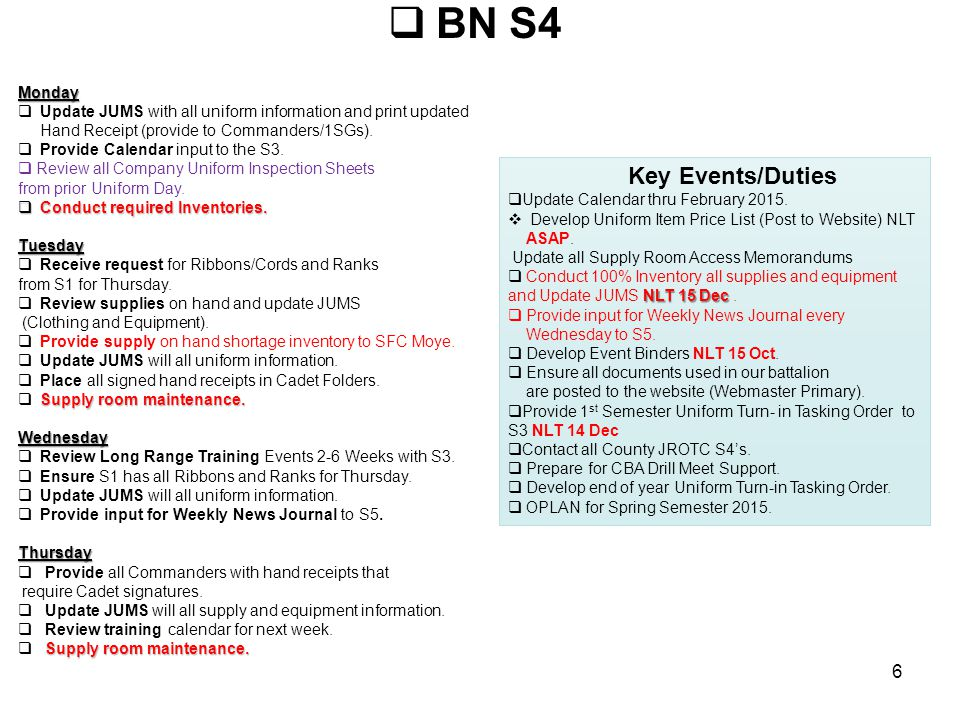 BN S5Monday  Work on Newsletter.