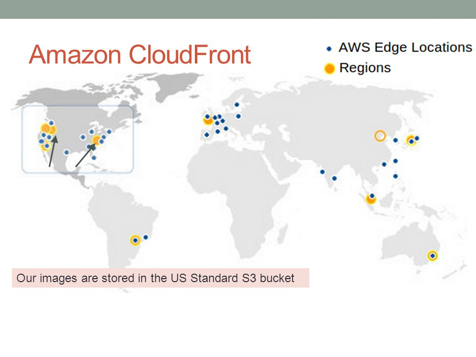 Amazon CloudFront Delivered by all edge locations
