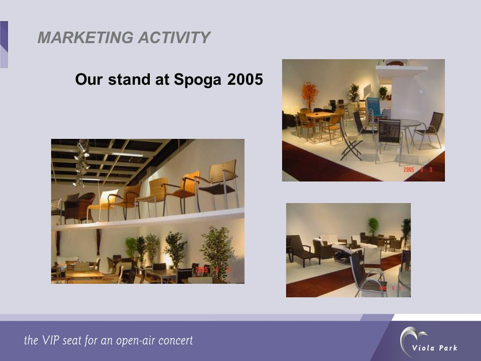 Our stand at Spoga 2005
