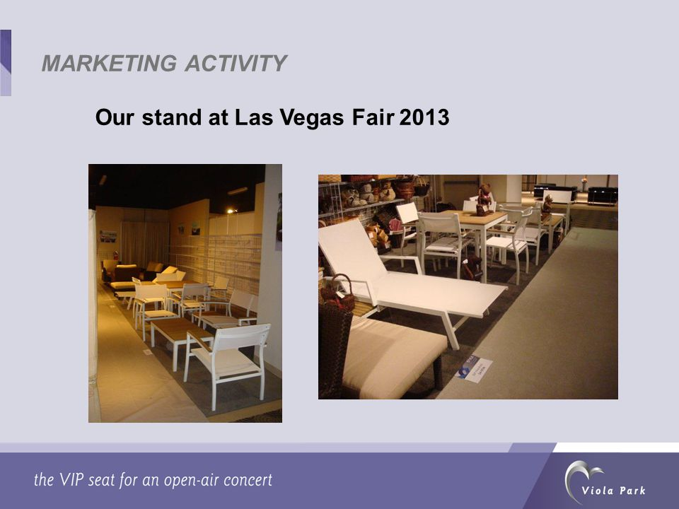 Our stand at Las Vegas Fair 2013 MARKETING ACTIVITY