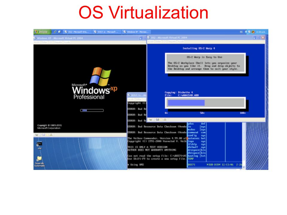 OS Virtualization