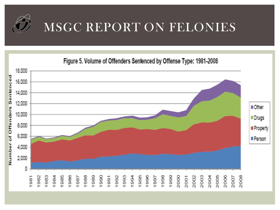 MSGC REPORT ON FELONIES
