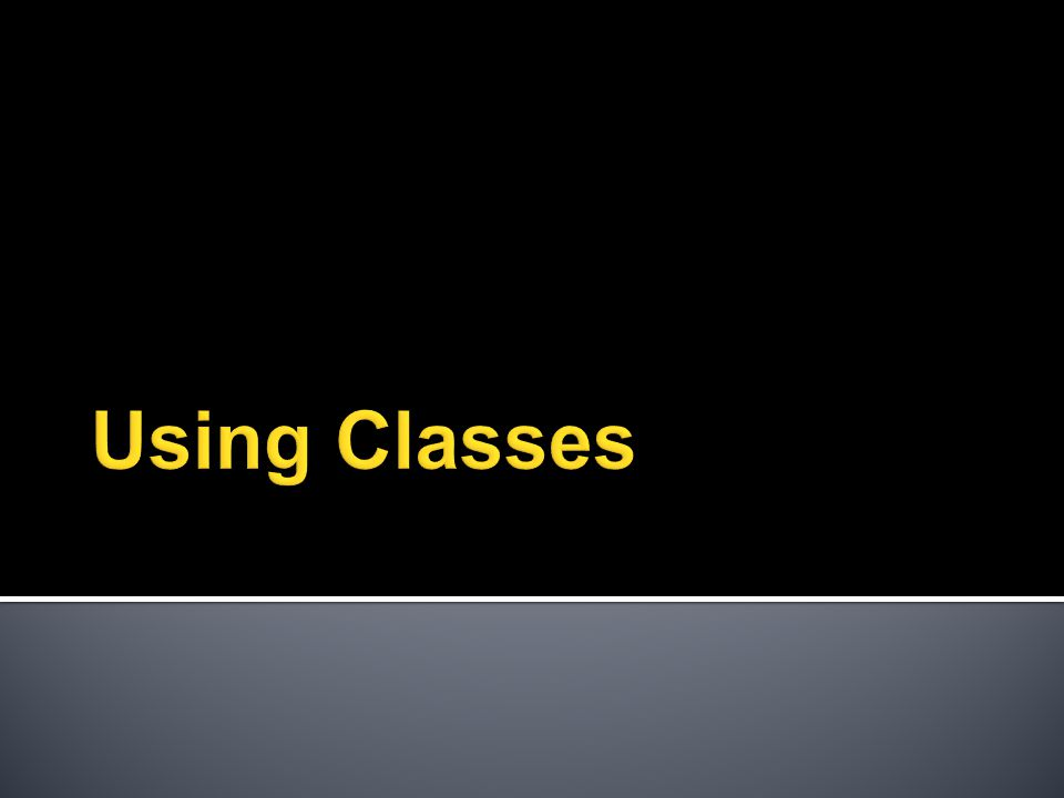  Objects of a class are always created on heap using the new operator followed by constructor ▪ Student s = new Student () // no pointer operator * between // Student and s ▪ Only String constant is an exception ▪ String greet = Hello ; // No new operator ▪ However you can use ▪ String greet2 = new String( Hello );  Members of a class ( member variables and methods also known as instance variables/methods ) are accessed using . operator.