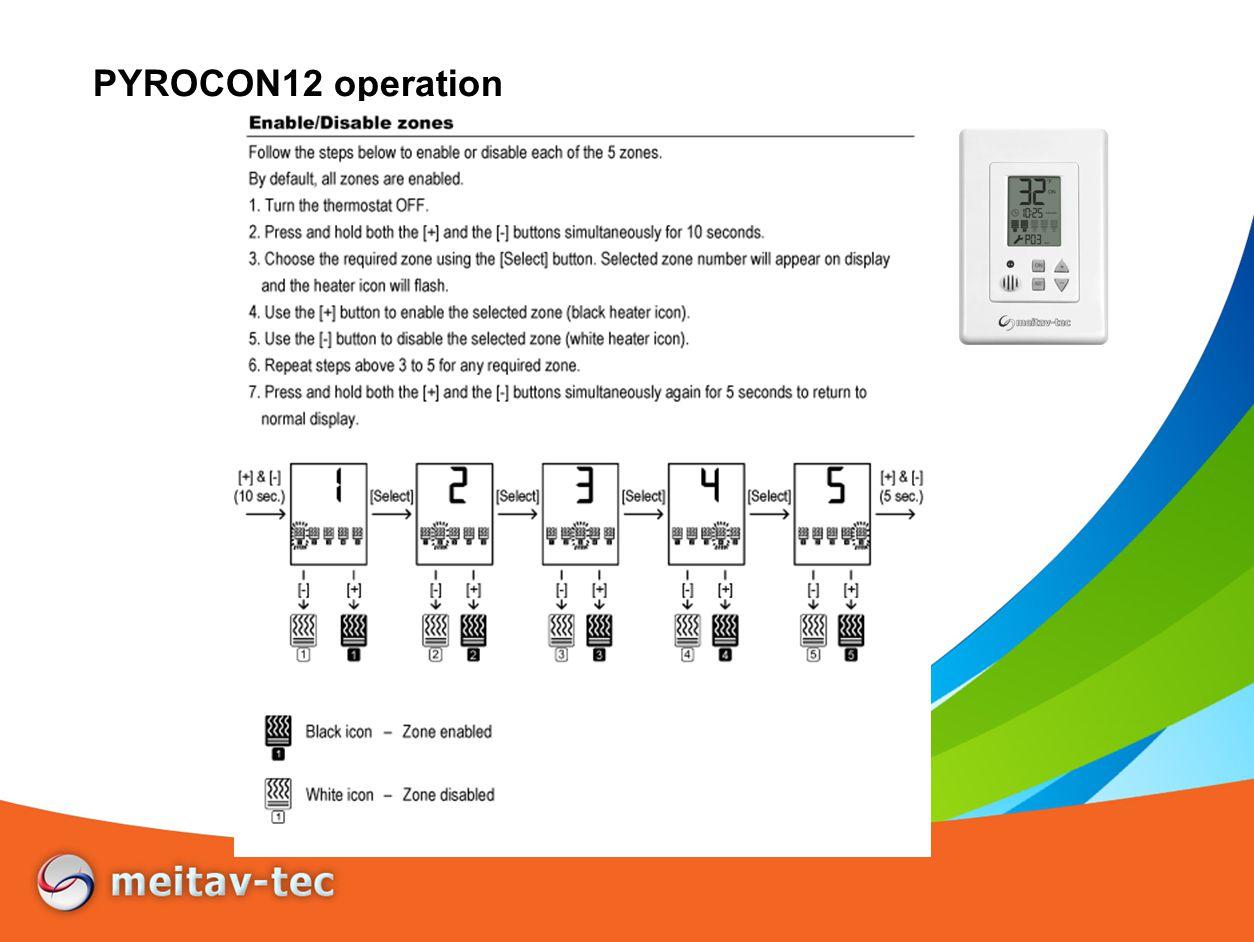 PYROCON12 operation