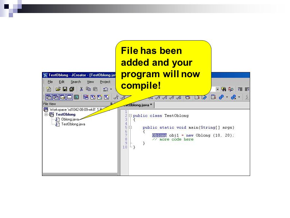 File has been added and your program will now compile!