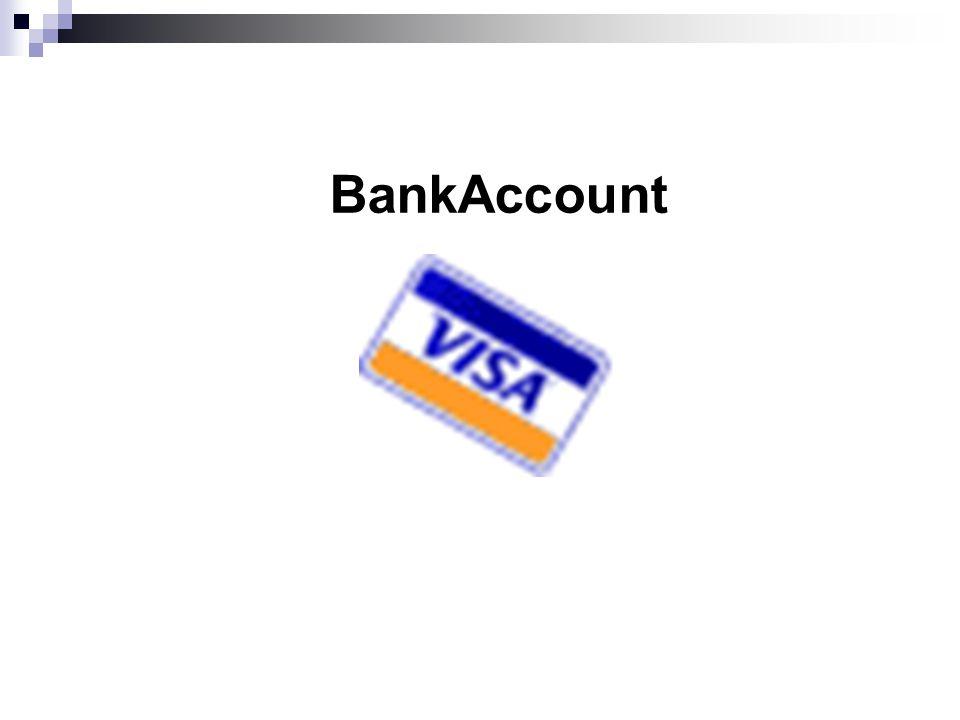 BankAccount