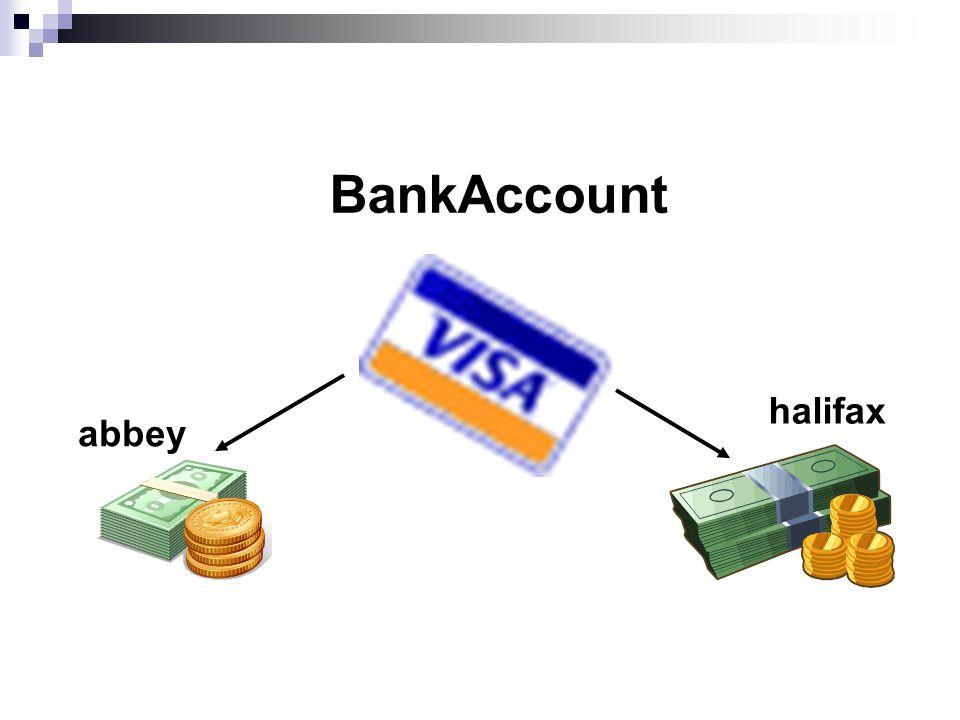abbey halifax BankAccount