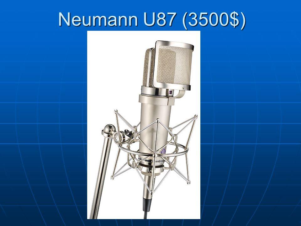 Neumann U87 (3500$)
