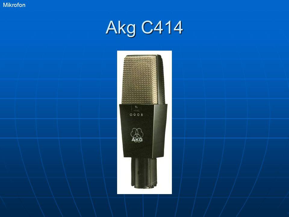Mikrofon Akg C414