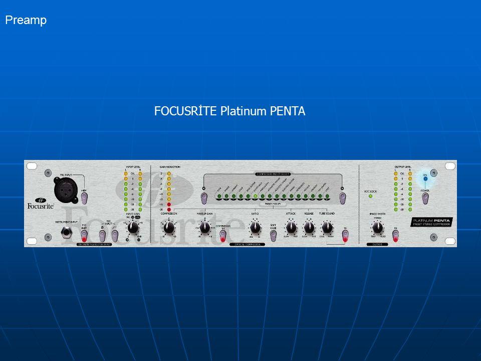 FOCUSRİTE Platinum PENTA Preamp
