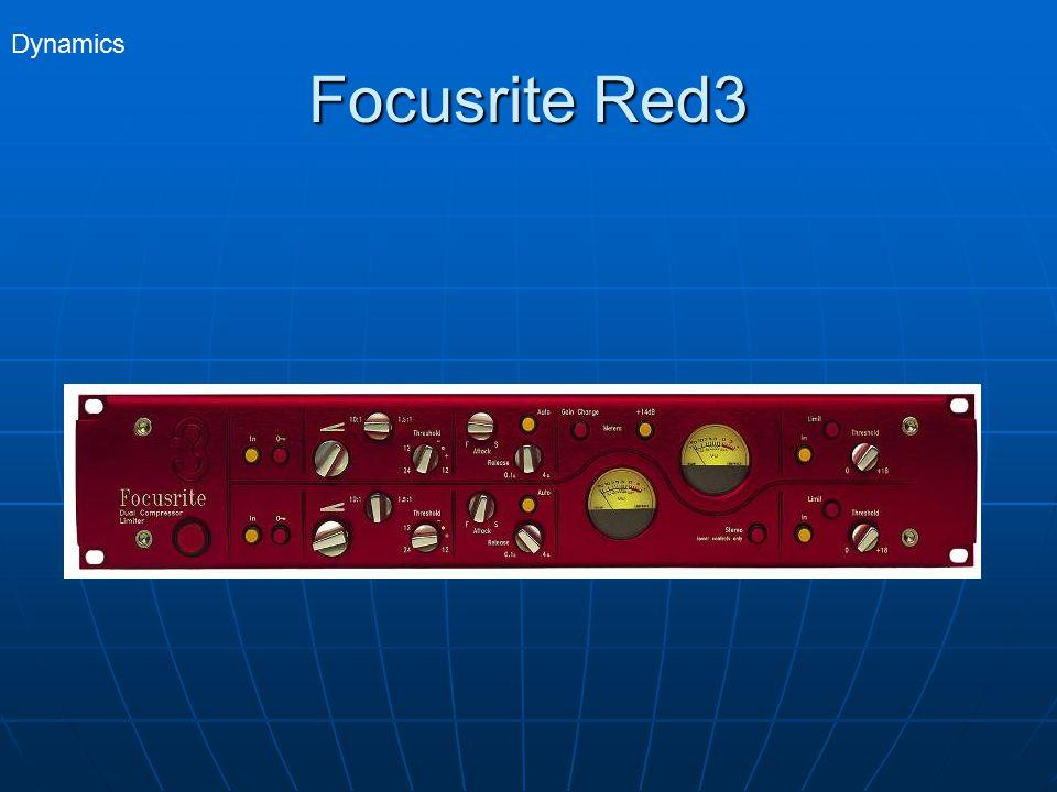 Focusrite Red3 Dynamics