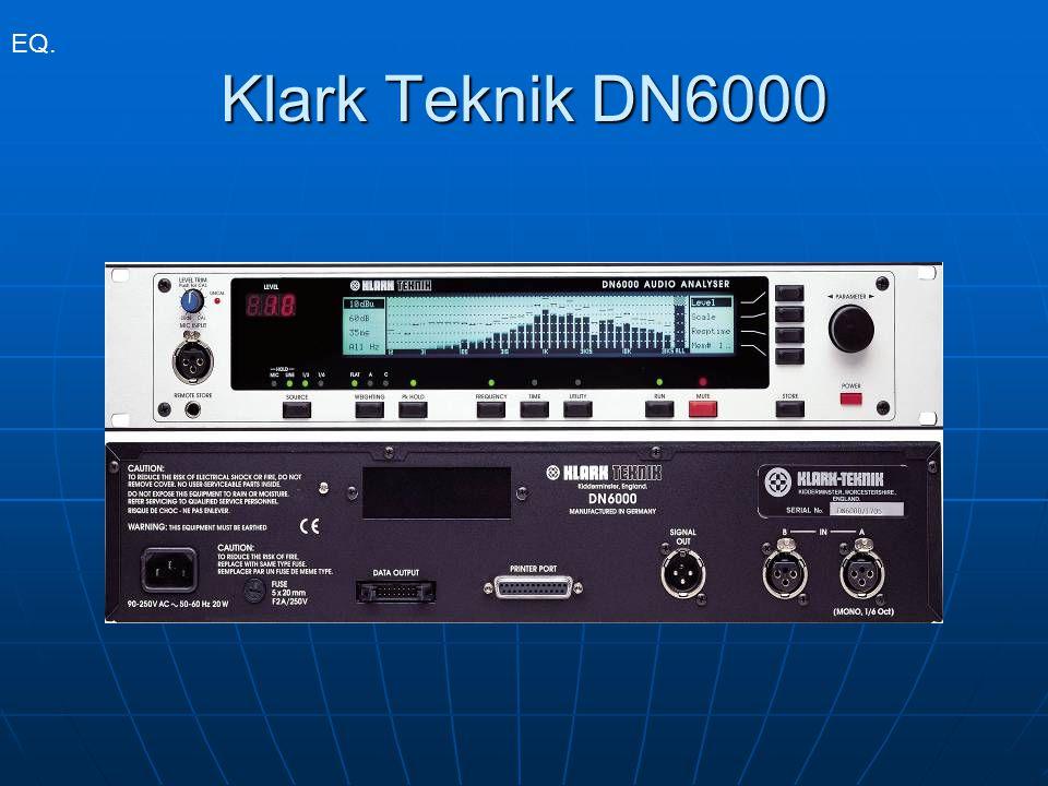 EQ. Klark Teknik DN6000
