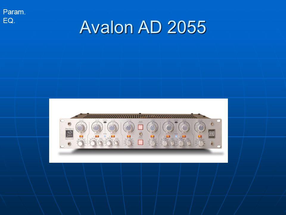 Param. EQ. Avalon AD 2055