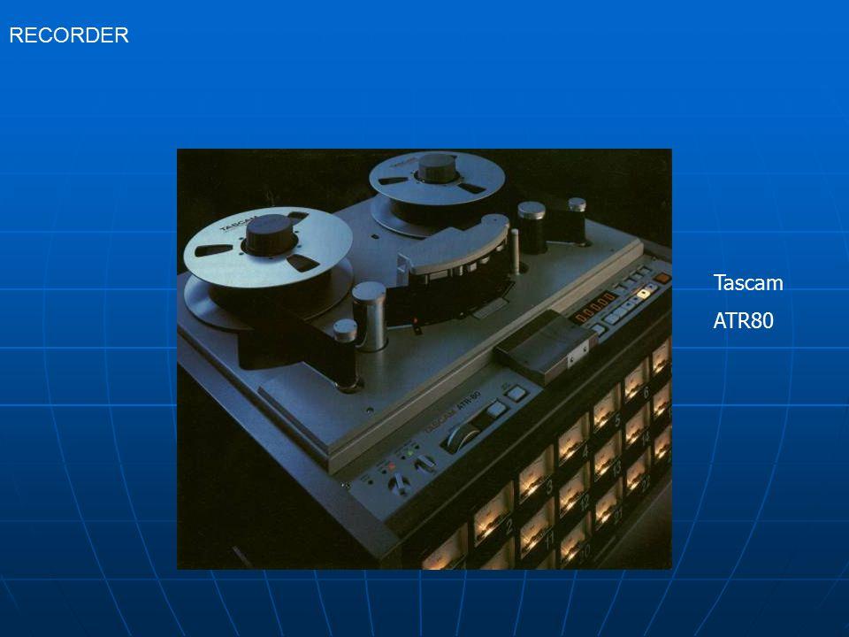 Tascam ATR80 RECORDER