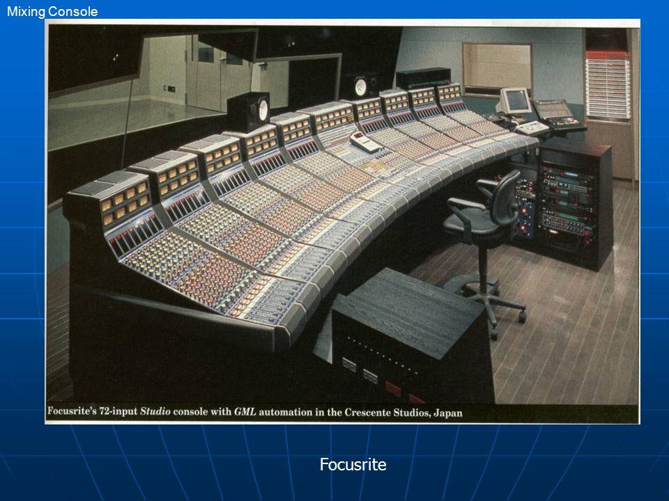 Focusrite Mixing Console