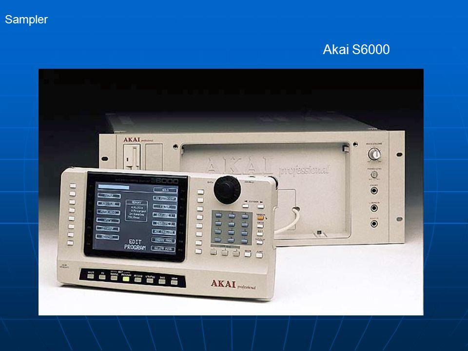 Sampler Akai S6000