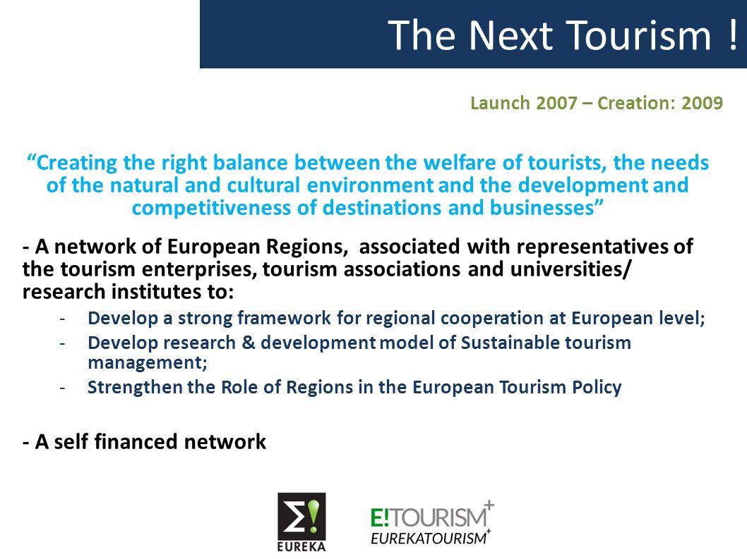 The Next Tourism .