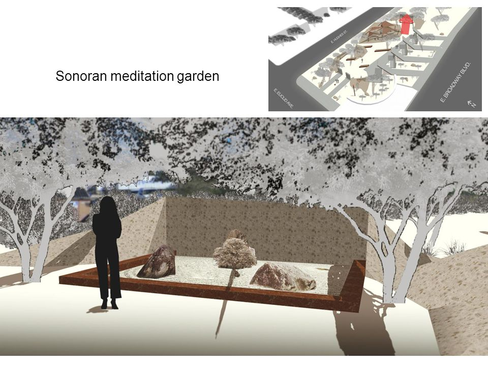 Sonoran meditation garden