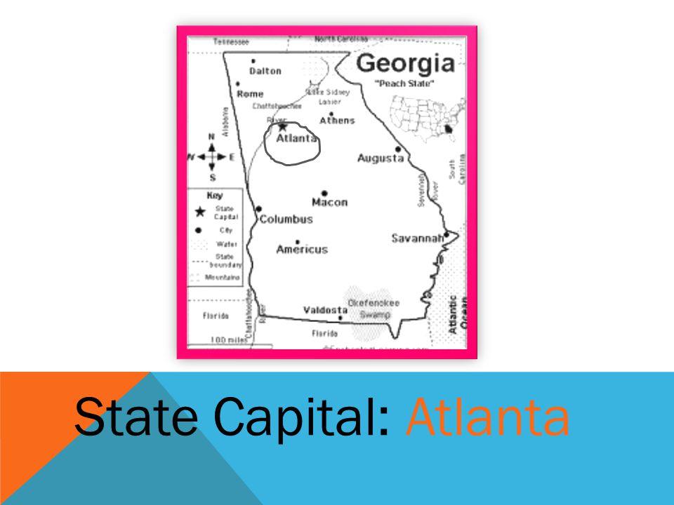 State Capital: Atlanta