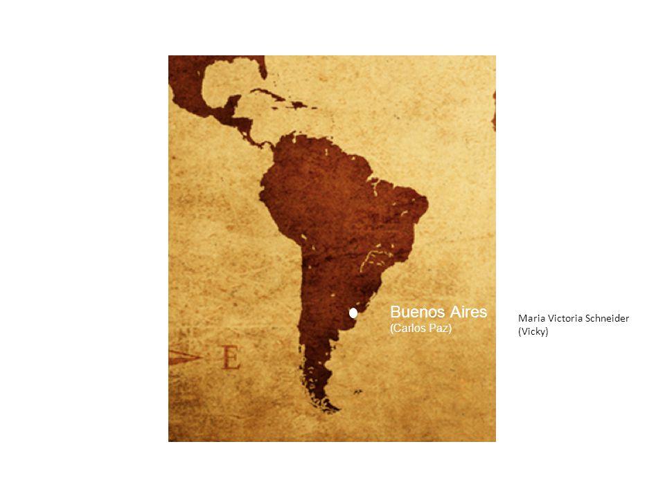 Buenos Aires (Carlos Paz) Maria Victoria Schneider (Vicky)
