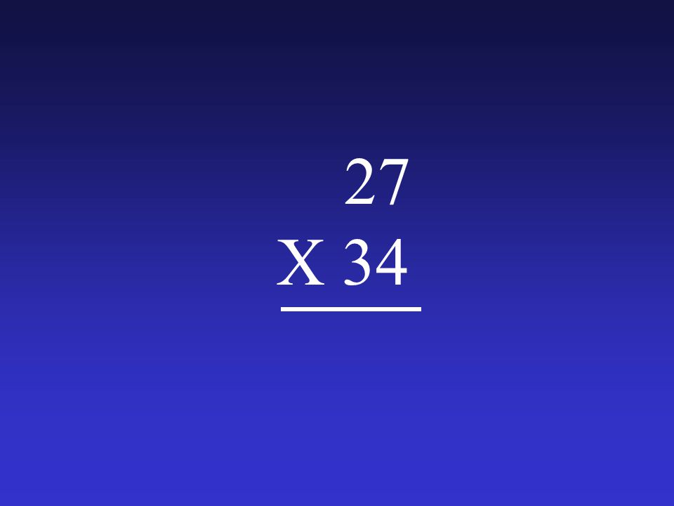 27 X 34