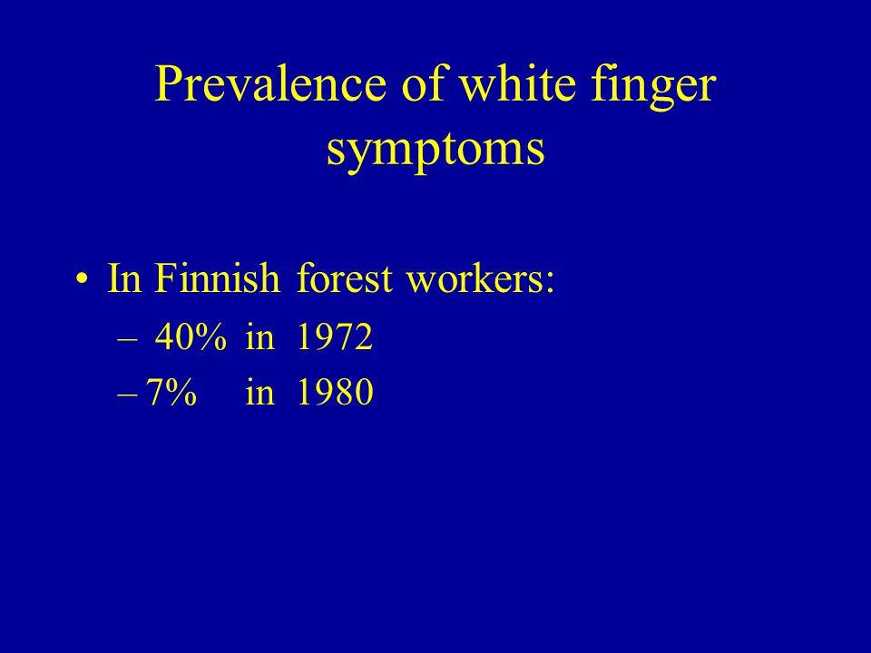 HAV as occupational disease in Finland 1990-2002 RODFIOH 2001-20023416 1999-20003216 1997-983817 1995-96377 1993-944418 1990-92 (3 yrs)9237