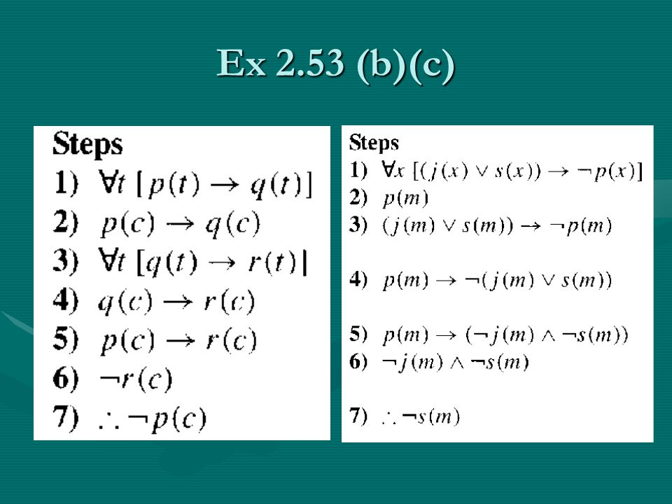 Ex 2.53 (b)(c)