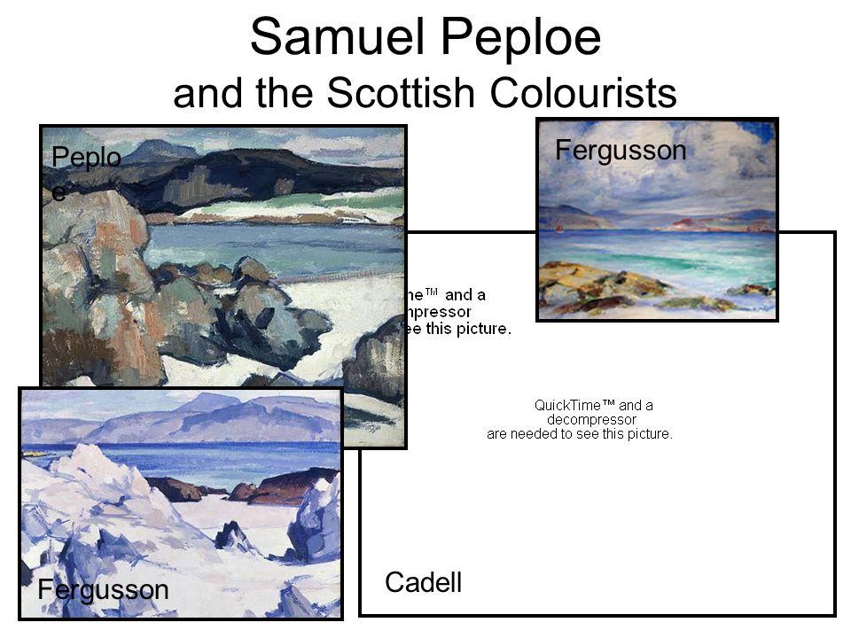 Samuel Peploe and the Scottish Colourists Peplo e Fergusson Cadell Fergusson